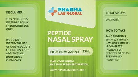 HGH FRAG Nasal Label